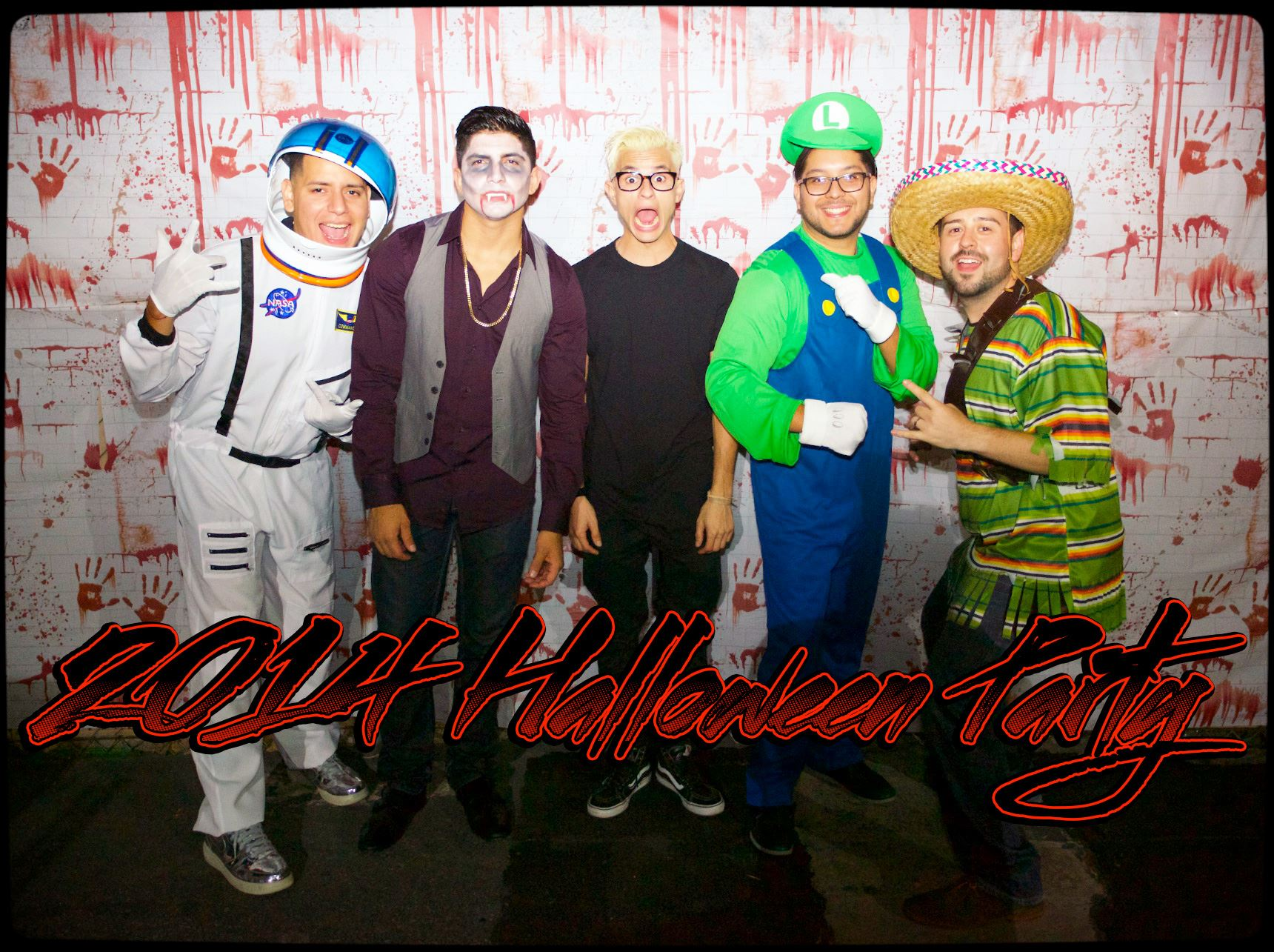 2014 KAR Staff Halloween Party